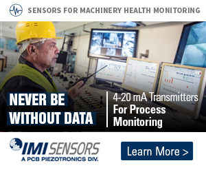 Never be without data - 4-20 mA Transmitters for Process Monitoring - Sensors for machinery health monitoring - IMI Sensors - Learn more