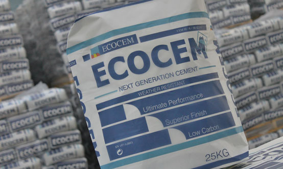 Ecocem has been selling bagged CEM III/A and bagged GGBS in Ireland and the UK since 2013.