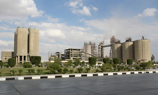 Qatamia Cement plant, now part of HeidelbergCement. Source - Italcementi website.