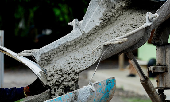 Quality concrete relies on quality cement...  ...and appropriate testing.