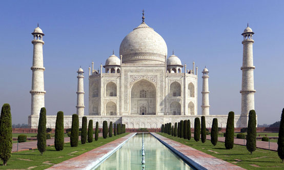 The Taj Mahal in Agra,  Uttar Pradesh, is inarguably India's most famous landmark.