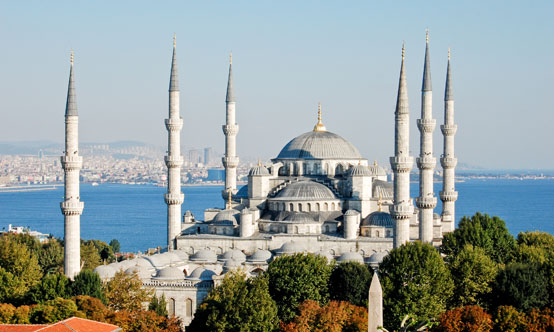 Istanbul is home to one of Turkey's most recognisable UNESCO World Heritage sites, the Sultan Ahmed Mosque (also known as the Blue Mosque).