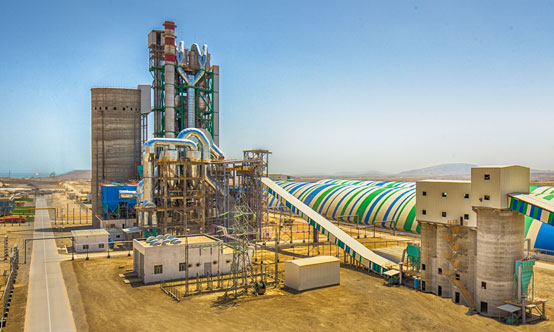 The Norm Sement plant in Garadagh, Baku, Azerbaijan, is the largest in the south Caucasus region with 5000t/day of clinker production capacity and 2Mt/yr of cement capacity.