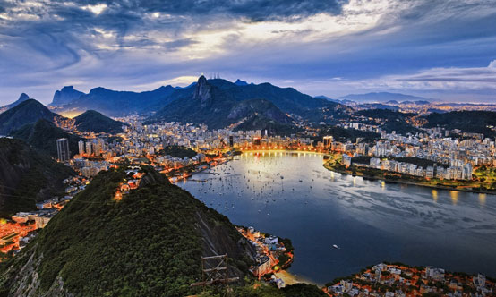 Figure 1: Rio de Janeiro is the second-largest city in  Brazil and one of the most-populous cities in the country.